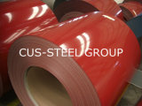 縞の/Colorの上塗を施してある鋼鉄Roll/PPGIのPrepainted鋼鉄コイル