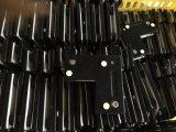 Longue charnière en verre pour l'ajustage de précision en verre de connexion de blocage de porte
