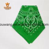 熱い販売法の習慣によって印刷される正方形の綿のスカーフ