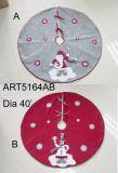 """"""" decoración de la Bordear-Navidad del árbol del copo de nieve del diámetro 48"""