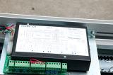 Conducteur télescopique de porte avec le glissement de 2 ou 3 panneaux