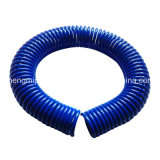 Tubo azul marino del retroceso del poliuretano con la guarnición (12*8m m, los 15M)