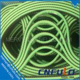 Пояс красного, зеленого, черного, белого, серого, голубого покрытия приурочивая