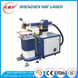 Máquina de soldadura pequena do laser da fibra do reparo do molde de metal