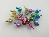 uma variedade de estilos de fones de ouvido tridimensionais bonitos da orelha