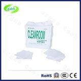 """essuie-glace antistatique de Cleanroom Microfiber de DÉCHARGE ÉLECTROSTATIQUE blanche de 9 """" *9 """" (EGS-2009A)"""