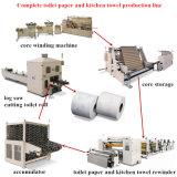 Более дешевое цена в горячий продавать автоматических линий для продукции салфетки Rewinder