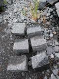 Piedra cúbica de granito para exterior / jardín / acera / pavimentación / 654 Granito
