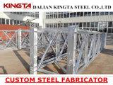 Сваренный DIP ферменной конструкции дорожки стальной структуры горячий гальванизируя