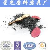 Carbone activé granulaire de noix de coco pour l'extraction d'or