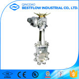 Válvula de porta resiliente quente do aço inoxidável do assento da venda BS5163