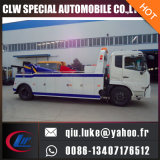 Carro de remolque del camión de auxilio del remolque 4*2 del euro 3