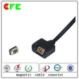 2 pines macho y hembra magnético Conector de cable para Bluetooth