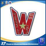 Emblema do metal com logotipos do cliente para o uso do emblema da polícia