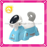 Stuk speelgoed van het Toilet van het Kind van het Stuk speelgoed van het Toilet van de Kat van de muziek het Grappige met het Stuurwiel van de Muziek
