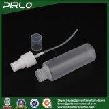 frasco plástico geado 50ml da cor de Translucid do frasco do pulverizador com os frascos plásticos líquidos plásticos do pulverizador do cuidado de pele do perfume do pulverizador