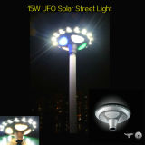 UFO tout d'IP65 15W dans un réverbère solaire