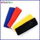 Personalizzare gli Sweatbands della manopola del cotone del Terry di protezione di sport di marchio