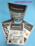 Kundenspezifische Verpacken- der Lebensmittelreißverschluss-Fastfood- Plastiktasche