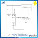 Arrestor молнии DC 24V 48V протектора 40ka IEC61643 1p 8/20