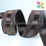 38mm buntes nachgemachtes Nylonwebart-gewebtes Material für Kleid-Zubehör