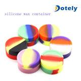 Vaso del contenitore del concentrato della cera dell'olio a base di silicone