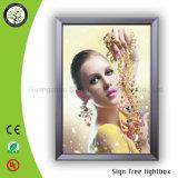 壁ポスターフレームの細いライトボックスを広告する高品質装飾的なLED