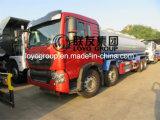 25000L容量の中国HOWO T5g 8X4の石油タンカーのトラック