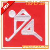 Emblema personalizado do bordado, etiqueta do vestuário para acessórios