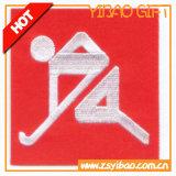 Corrección modificada para requisitos particulares fuente del bordado con la insignia para la colección