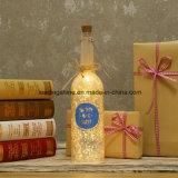 Nieuwe LEIDEN van de Fles van het Sterrelicht van het Product Licht op de Gift van Kerstmis van de Verjaardag van de Decoratie