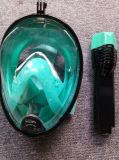 パノラマ式太字のダイビングマスクの海眺め180のスノーケルマスク