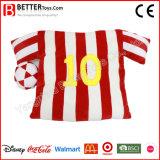 Het Kussen van de Pluche van het Overhemd van de Voetbal van de Bevordering van sporten voor Ventilator