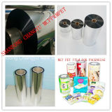 Polyester métallisé Film/VMPET avec 12microns, matériaux d'emballage flexible