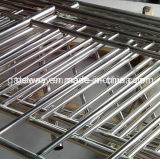 Balustrade d'escalier d'acier inoxydable avec la surface de polissage
