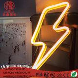 Luz Handmade do sinal de néon do diodo emissor de luz do costume da luz da decoração da parede para o quarto