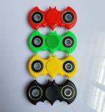 Tornillo creativo del dedo de la descompresión del girocompás del juguete de las yemas del dedo del Batman que gira a su hilandero de la mano de los dedos