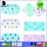 Conçu pour l'anti tapis de bain de PVC de glissade de gosses