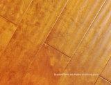 Revestimento chinês da folhosa de Handscraped do bordo de Gunstock do olhar antigo