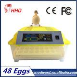 Ce keurde 48 Eieren goed die Machine voor Verkoop in China uitbroeden