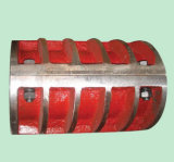 Jq 4.47-78 Kgの堅い球形のシェルのカップリング