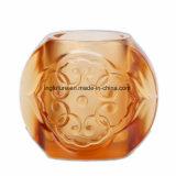 Wundervoller glasig-glänzender Glasgoodwill-dekorativer Feder-Behälter