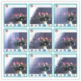 3mm-6.5mm patrón azul / figura de vidrio