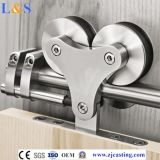 Top Mount Heavy Duty Sliding Barn Door Rollers e hardware de trilhos