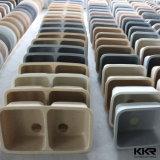 Kkr Square Single Bowl Lavatório de superfície sólida de superfície sólida