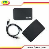 2.5 pulgadas USB2.0 a la caja externa del disco duro del Portable de SATA