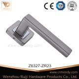 반경 로즈에 새로운 현대 아연 합금 문 레버 자물쇠 손잡이
