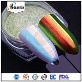Efeito mágico surpreendente Chrome Rainbow Galaxy Aurora Nails Pigmento em pó