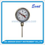 Thermomètre bimétallique avec le thermomètre bimétallique de Flèche-Rouge-Flèche indicatrice de mémoire