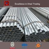 Noir ou tube galvanisé d'acier de construction